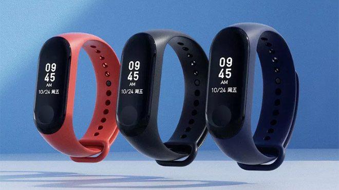 Xiaomi Mi Band 3 Tanıtıldı ve Pil Ömrü 20 Gün!