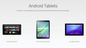 Android tabletler geri döndü!