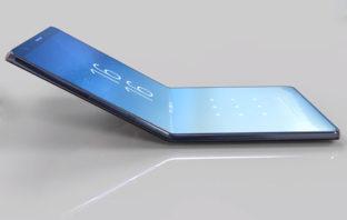 Samsung'un katlanabilir