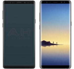 Samsung Galaxy Note 9 Görselleri Ortaya Çıktı
