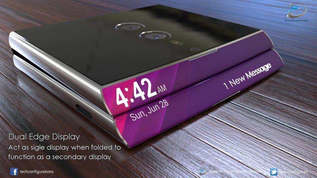 Sony'nin Katlanabilir Telefonu, Sony Xperia Flex