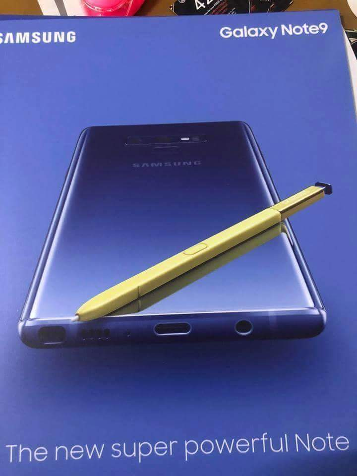 Galaxy Note 9, S Pen
