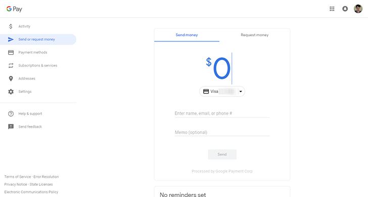 Google Pay, Yenilene Adıdan Sonda Yenilenen Ara Yüzü