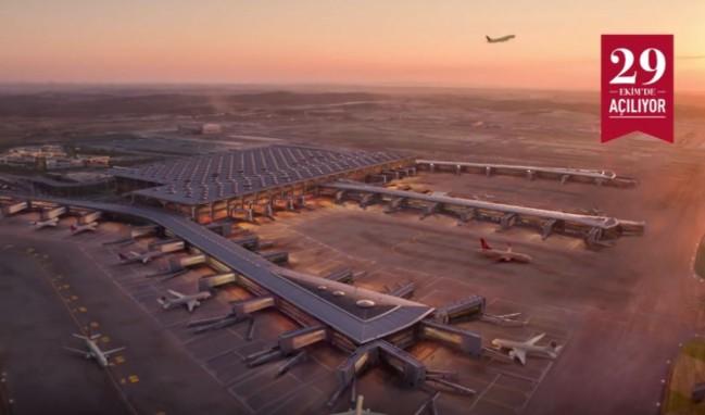 Türkiye'nin ve Dünyanın En Büyük Havalimanı Olan İstanbul'un 3. Havalimanı ilk Reklamı