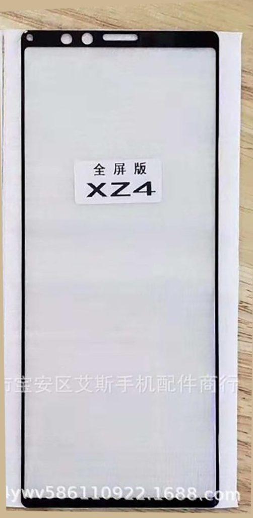 Sony Xperia XZ4 Ekran Tasarımı Sızdırıldı!